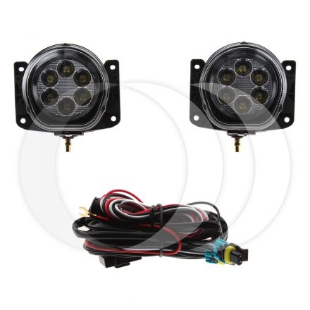Faro Auxiliar Universal 50/18 Kit Led